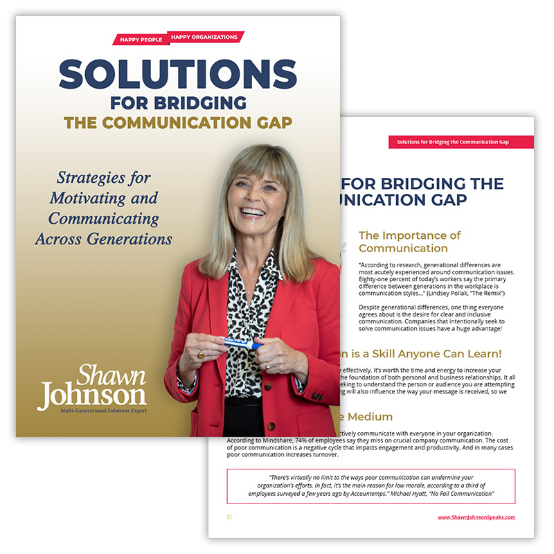 Shawn's eBook: Solutions for Bridging the Communications Gap